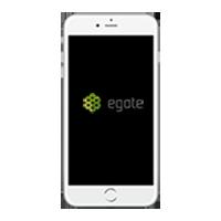 Telefon z aplikacją mobilna eGate